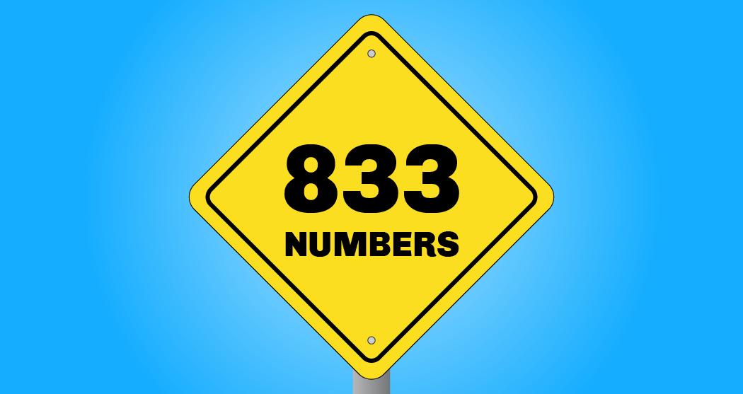 833 Vanity Numbers