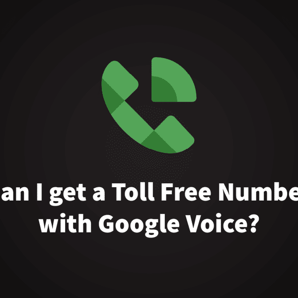 Google Voice Toll Free Number
