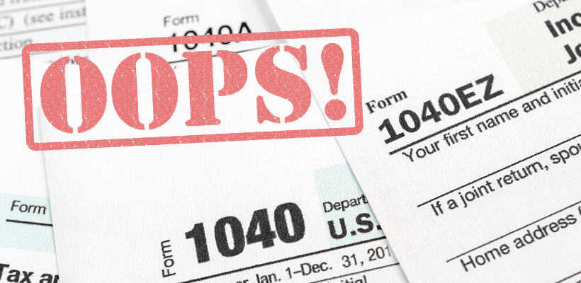 IRS Tax Mistake Penalties