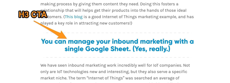 Manage Inbound Marketing
