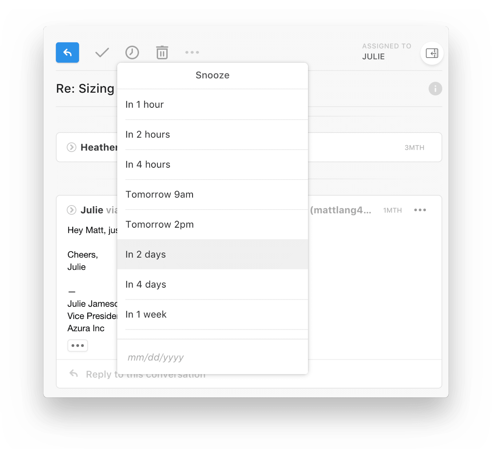 Alternative Help Desk Software: Front