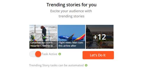 Find trending stories