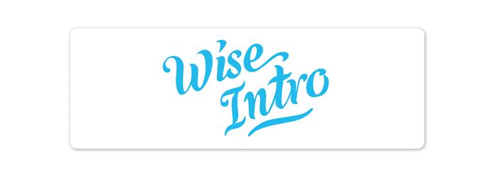 wise intro