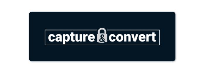 capture & convert